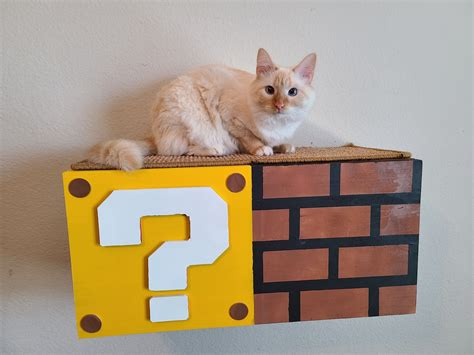 DIY Mario Cat Shelf