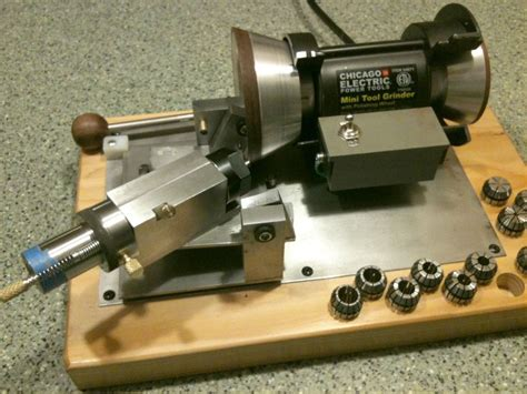DIY Metal Lathe Bit Sharpening Jig