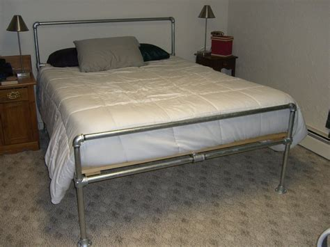 DIY Metal Tube Bed Frame