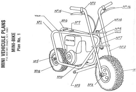 DIY Mini Bike Plans Free