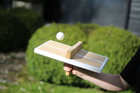 DIY Mini Ping Pong Table