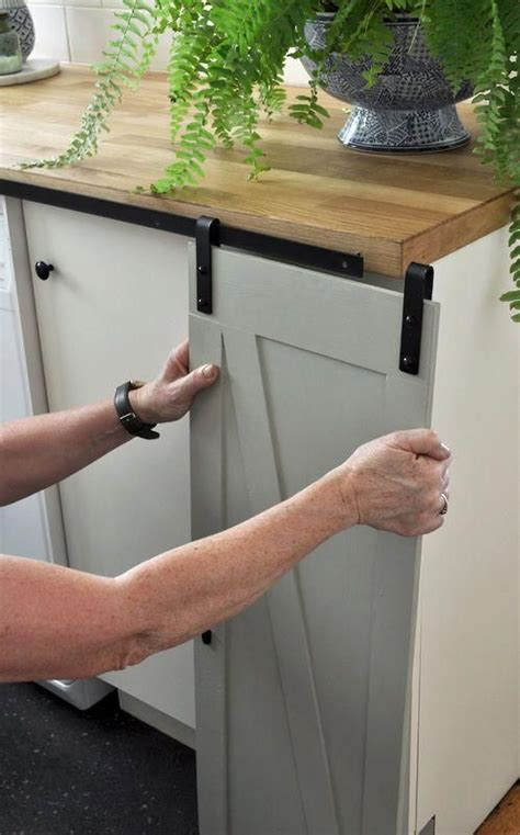 DIY Mini Sliding Barn Door