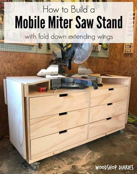 DIY Miter Stand With Extensions