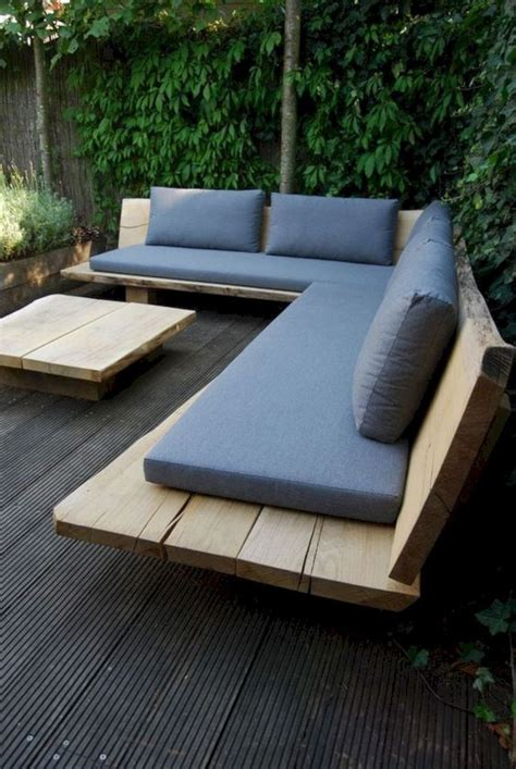 DIY Modern Patio Furniture