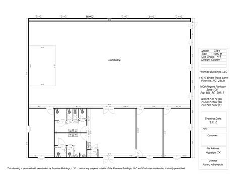 DIY Modular Church Buildings Floor Plans