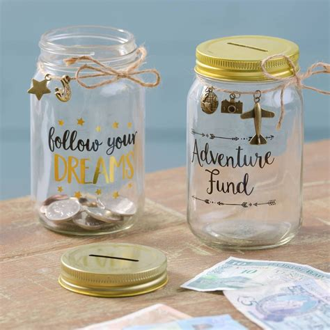 DIY Money Box Jar