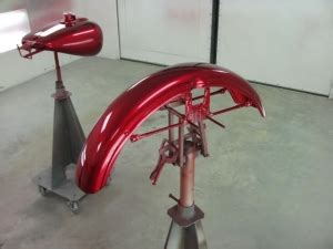 DIY Motorcycle Paint Stand