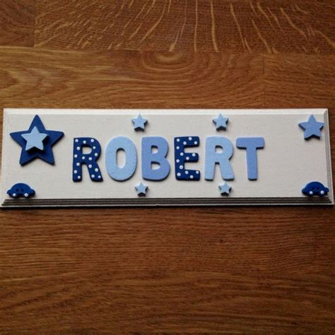 DIY Name Plate Sign For Door