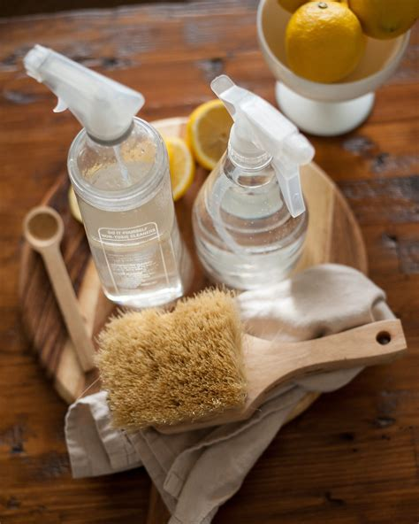 DIY Natural Cleanser Cleaner For Composite Wood Table