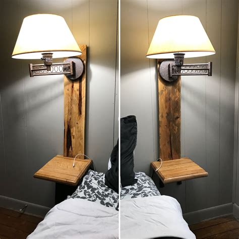 DIY Nightstand With Light