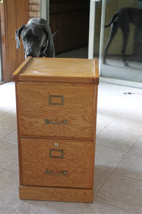DIY Old Filing Cabinet
