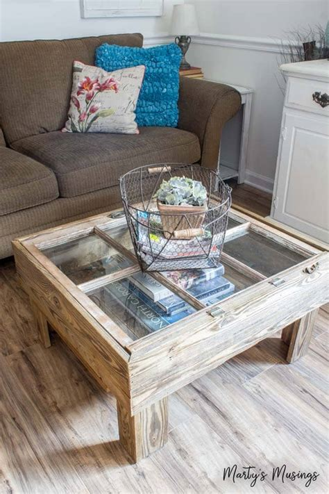DIY Old Window Table