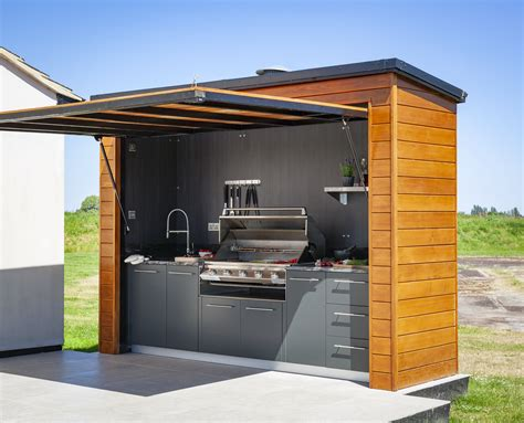 DIY Outdoor Bbq Cabinet