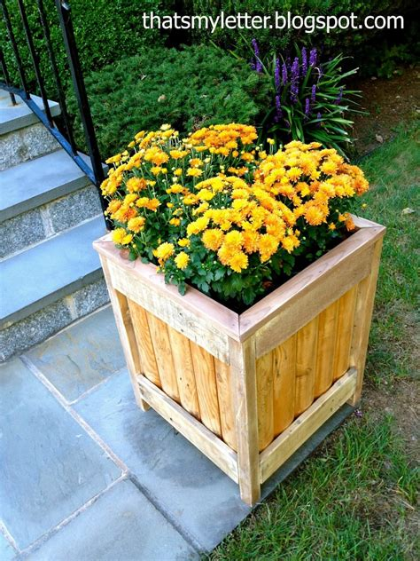 DIY Outdoor Projects Garden Planter