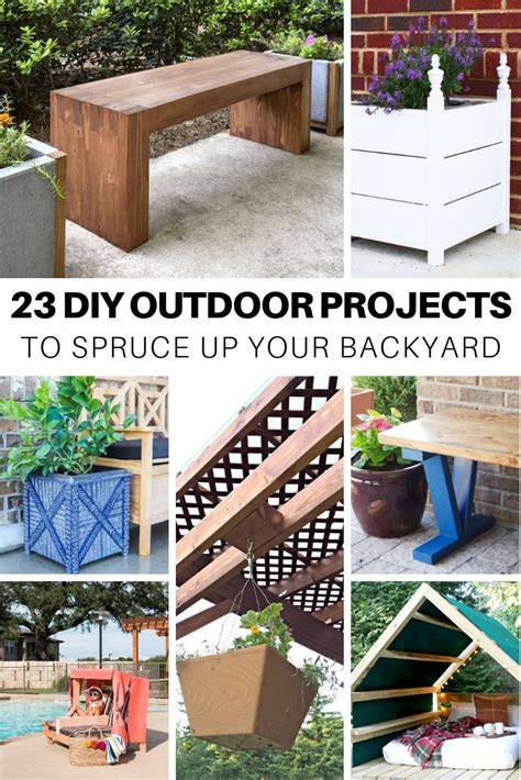 DIY Outdoors Easy Outdoor Projects