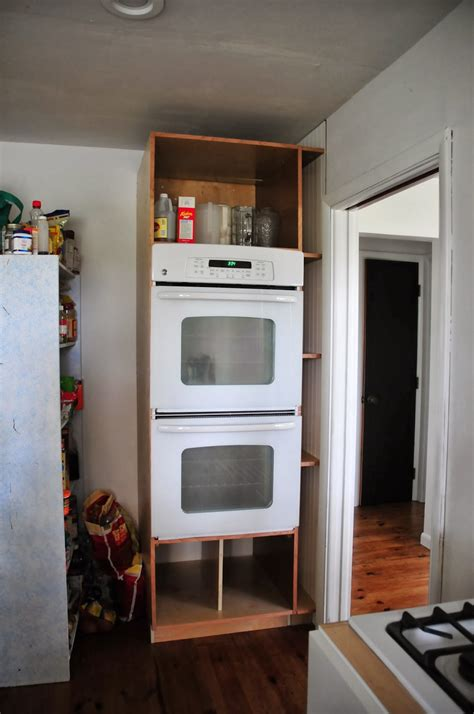 DIY Oven Cabinet