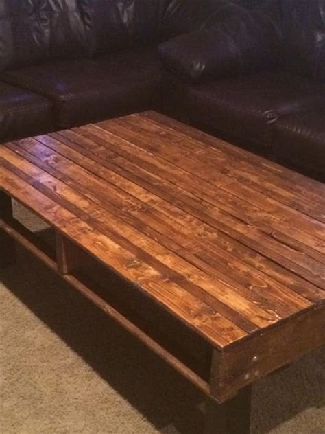 DIY Pallet End Table Instructions