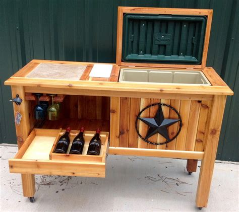 DIY Patio Cooler Stand Instructions