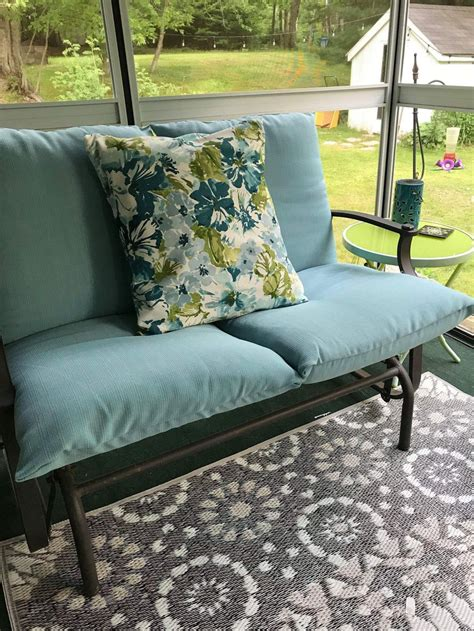 DIY Patio Furniture Cover