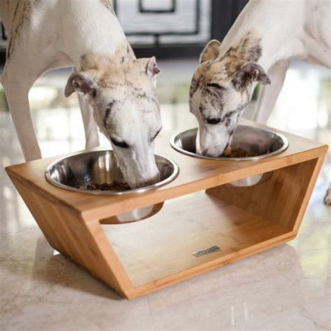 DIY Pet Food Stand