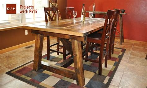 DIY Pete Rustic Farmhouse Table