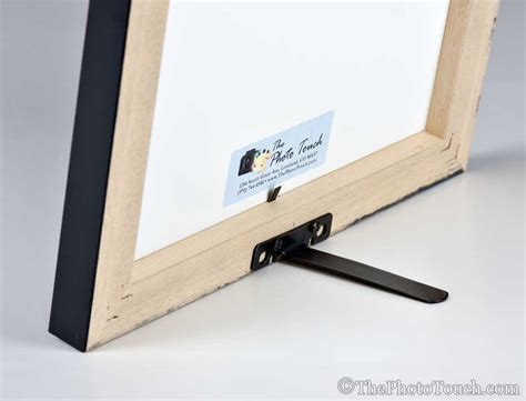 DIY Picture Frame Easel Backs