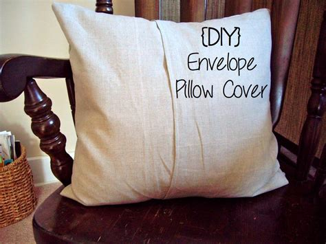 DIY Pillow Covers Envelope