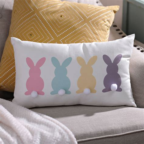 DIY Pillow Slipcovers Embroidery Designs