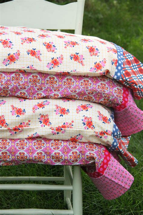 DIY Pillowcase Pattern With French Seam In Sewing Uses