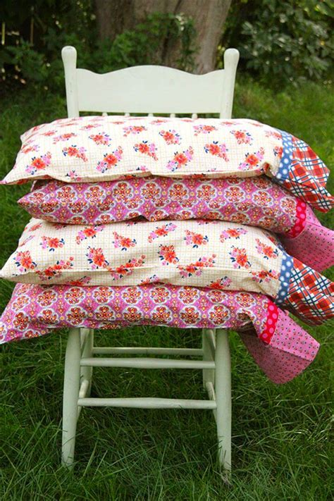 DIY Pillowcase Patterns With French