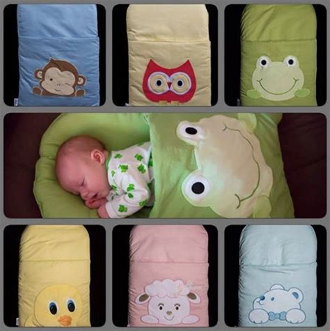 DIY Pillowcase Sleeping Bag For Baby Tutorial Painting