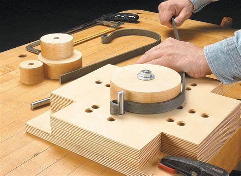 DIY Plan Scroll Bending Jig