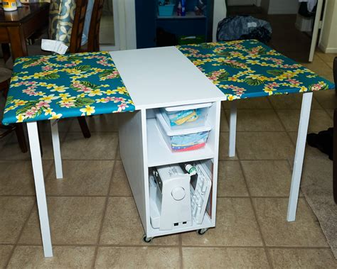 DIY Plans For Sewing Tables
