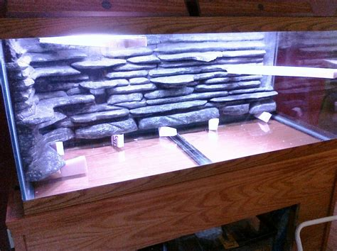 DIY Plywood Aquarium Pictures Background
