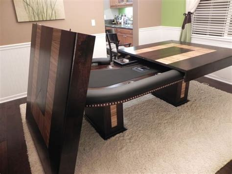 DIY Poker Table Dining Top