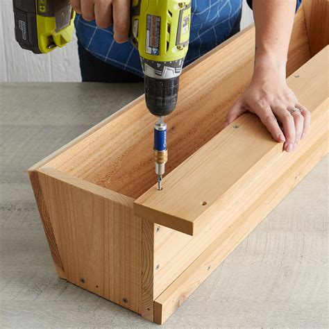 DIY Porch Rail Planter