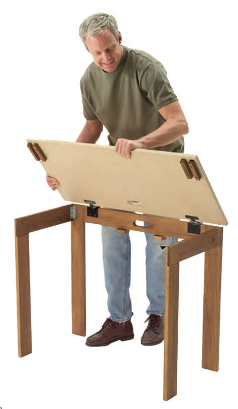DIY Portable Folding Table