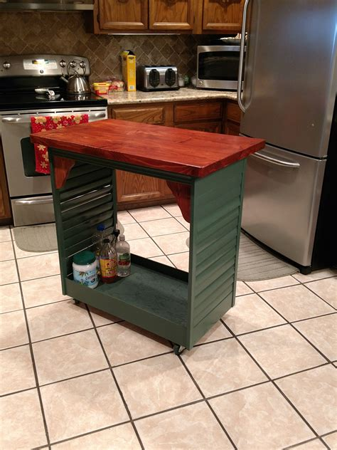 DIY Portable Kitchen Island Plans