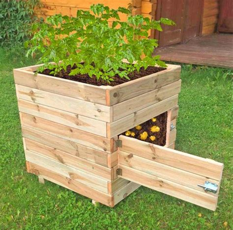 DIY Potato Planter Box