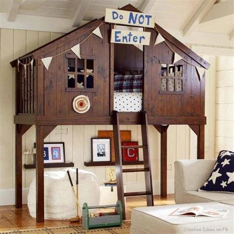 DIY Pottery Barn Treehouse Bunk Bed