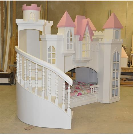 DIY Princess Castle Bed