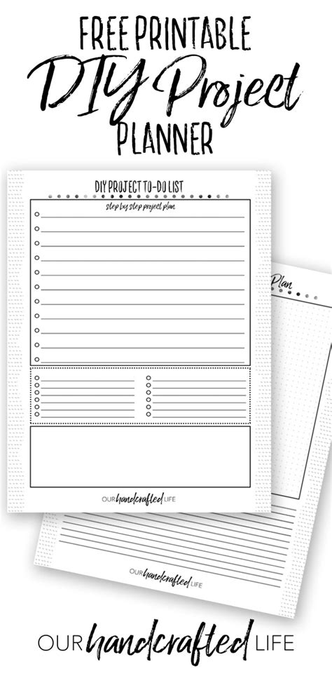 DIY Project Planner