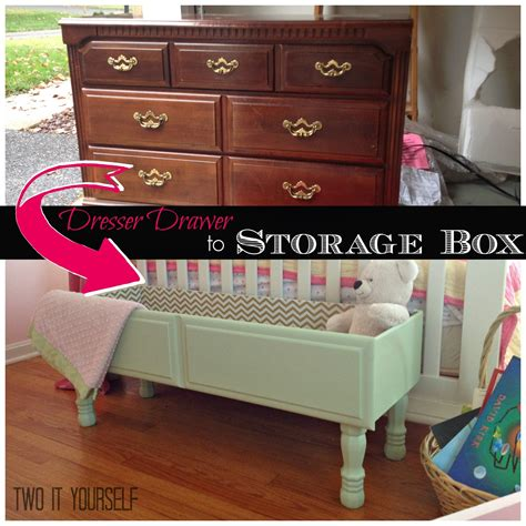 DIY Projects Dresser Drawers