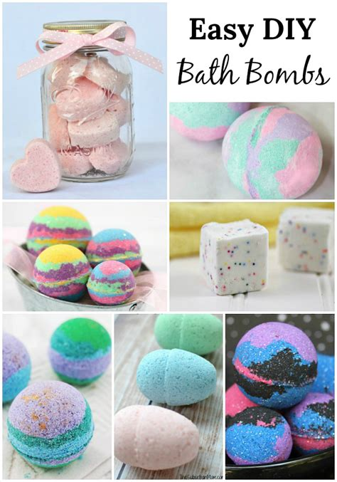 DIY Projects For Teens Bath Bombs