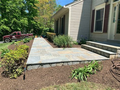 DIY Projects Home Improvement Flagstone Walkways