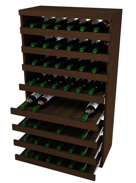 DIY Pull Out Wine Rack