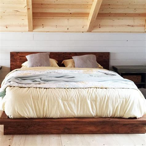 DIY Queen Platform Bed Contemporary