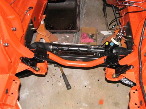 DIY Rack And Pinion For 67 Mustang