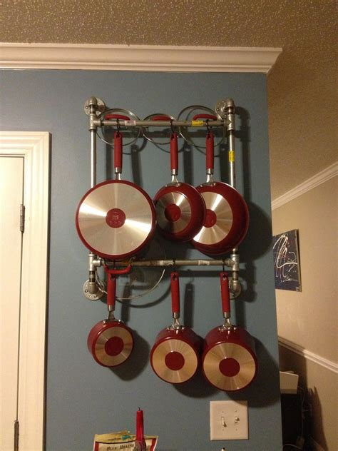 DIY Rack For Pots And Pans