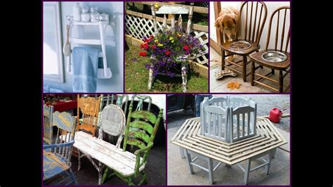 DIY Recycled Old Chair Projects